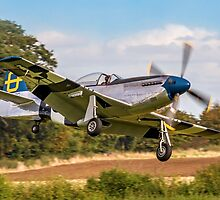 "P-51D Mustang 44-72035 G-SIJJ ""Jumpin'-Jacques"" by Colin Smedley"