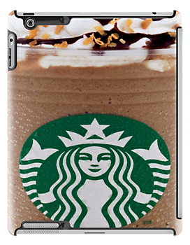 Starbucks Frappuccino iPad case by Jnhamilt