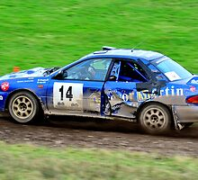 Subaru Impreza No 14 by Willie Jackson