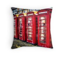 Ripon Boxes Throw Pillow