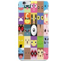 Pokemon Faces  iPhone Case/Skin