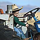She loves my tractor by Jessie Miller/Lehto