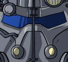 Power Armor Helm Sticker