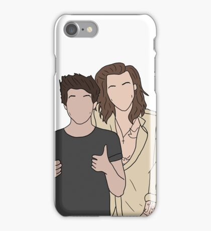 Harry & Louis Thumbs Up iPhone Case/Skin