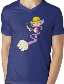 Luffy Pom Mens V-Neck T-Shirt
