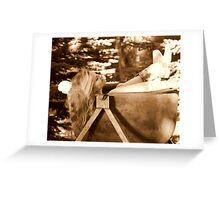 Old Tub Greeting Card