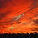 Bangor Skyline As An iPad Case by Fara