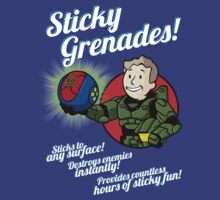 Sticky Grenades! by D4N13L