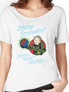 Sticky Grenades! Women's Relaxed Fit T-Shirt