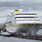 cruise ship at the pier  by mrivserg