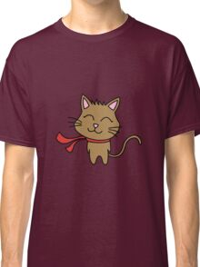 Happy Kitty Wind Classic T-Shirt