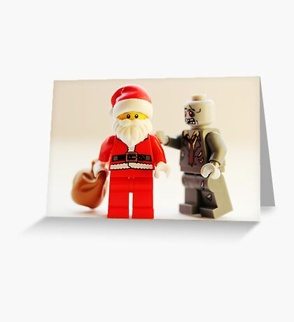 A zombie Christmas Greeting Card