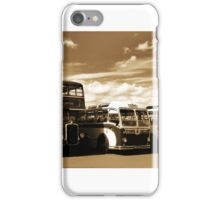 Vintage Buses iPhone Case/Skin