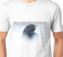 Capercaillie in snow Unisex T-Shirt