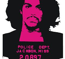 Prince Mugshot by BUB THE ZOMBIE