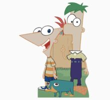 Phineas & Ferb by Catherine O'Hagan