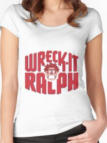 Wreck-It Ralph Women's Fitted Scoop T-Shirt