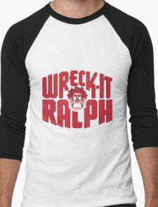 Wreck-It Ralph Men's Baseball ¾ T-Shirt