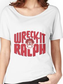 Wreck-It Ralph Women's Relaxed Fit T-Shirt