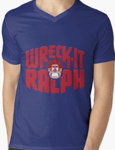 Wreck-It Ralph Mens V-Neck T-Shirt