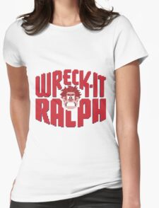 Wreck-It Ralph Womens Fitted T-Shirt