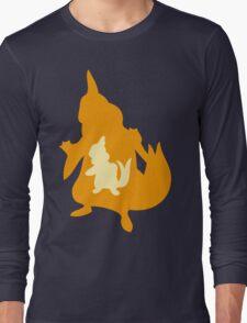 PKMN Silhouette - Buizel Family Long Sleeve T-Shirt