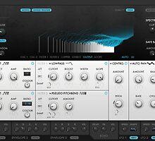 VST Synthesizer Screenshot by zacharydesigns