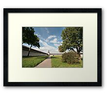 View of the Pskov  fortress Framed Print