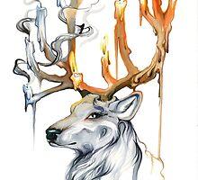 Stag Spirit by katylipscomb