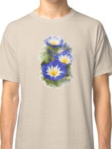 Morning Glory Watercolor Art Classic T-Shirt