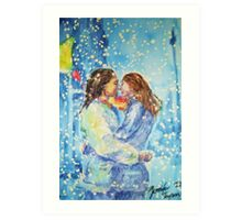 Seasons Change But Not Our Love Art Print