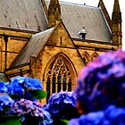 Bolton Parish Church in Bloom by Sarah Williams