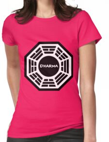 Dharma Initiative Womens Fitted T-Shirt