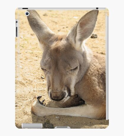 Australian Kangaroo for iPad iPad Case/Skin
