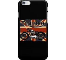 Triumph Motorcycle iPhone Case/Skin