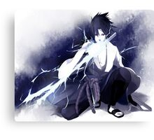 Sasuke Uchiha Painting Canvas Print