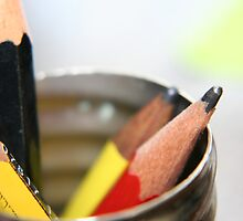 Unsorted Pencils by Somerset33