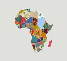 Patchwork Map of Africa Unisex T-Shirt