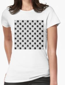 A Chess of Cats Womens Fitted T-Shirt
