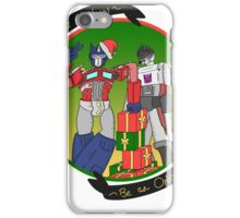 Transformers Christmas iPhone Case/Skin