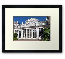 Palace style  Baroque  Framed Print