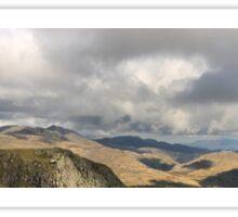 Lake District Landscape Panorama Sticker