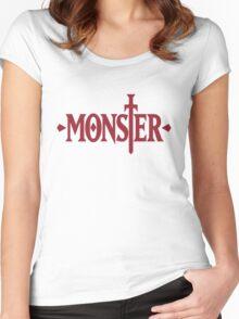 Monster Logo - Manga Women's Fitted Scoop T-Shirt