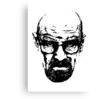 Heisenberg Retro Style Canvas Print