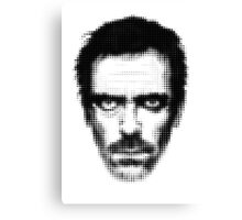 Dr. House Retro Style Canvas Print