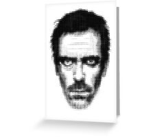 Dr. House Retro Style Greeting Card