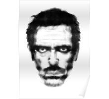 Dr. House Retro Style Poster