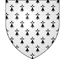 Coat of Arms of Brittany Photographic Print