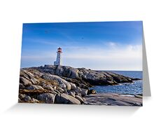 Peggy's Cove Lighthouse, Nova Scotia #2 Greeting Card