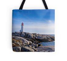 Peggy's Cove Lighthouse, Nova Scotia #2 Tote Bag